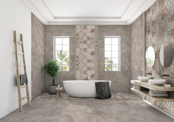 πλακάκια geo 61x61 μπάνιο