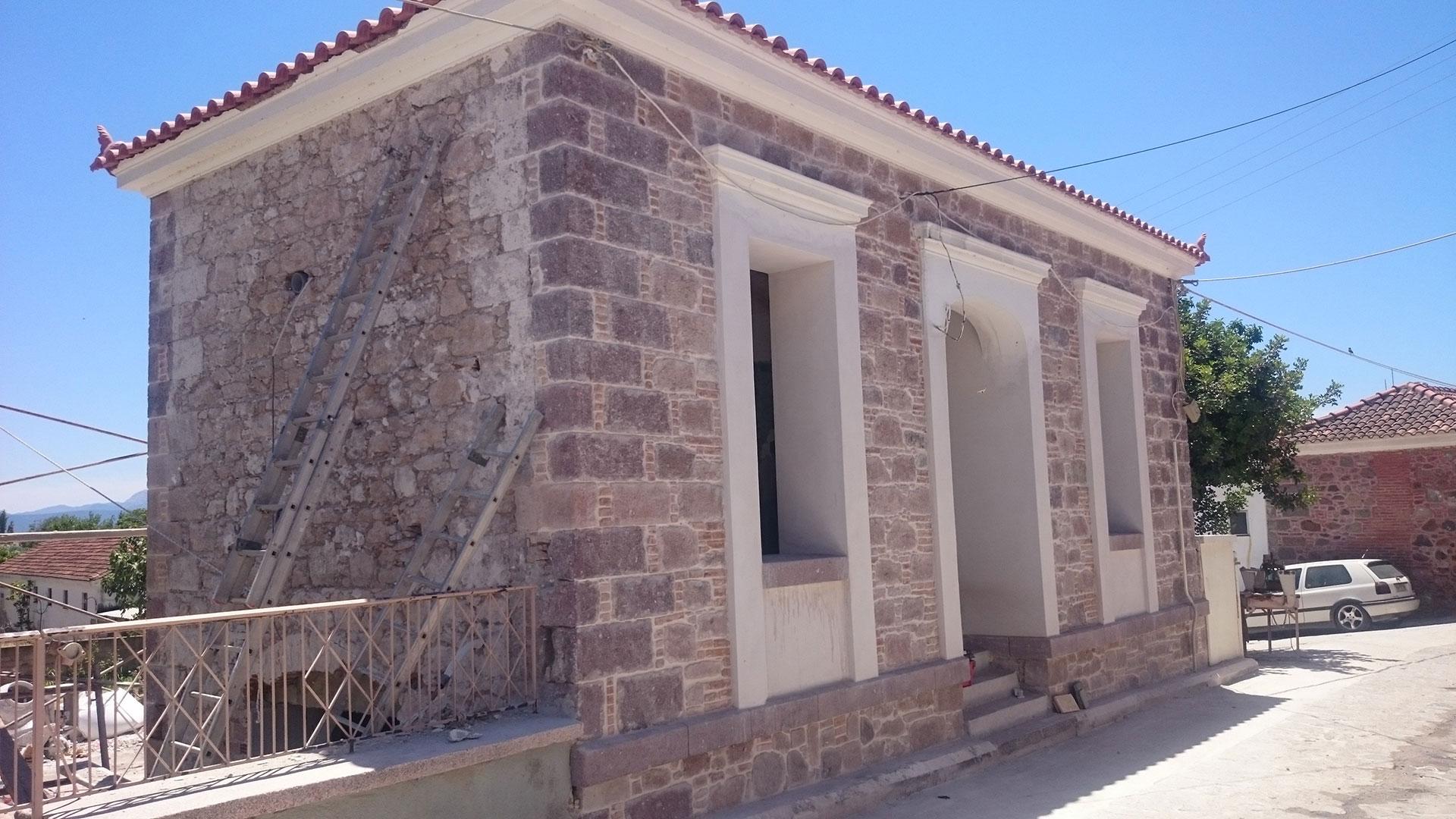 ανακαίνιση κατοικίας Δάφια pic1