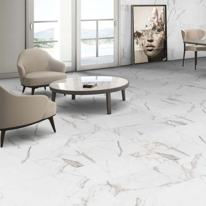 Πλακάκι δαπέδου Carrara Rectified pic2