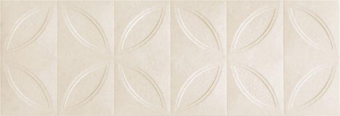 πλακάκι τοίχου gobi sphere cream mat 32x96cm pic2