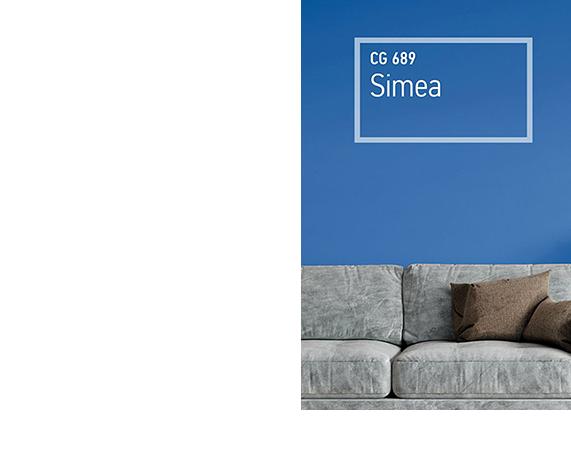 χρώματα kraft Simea CG 689 F