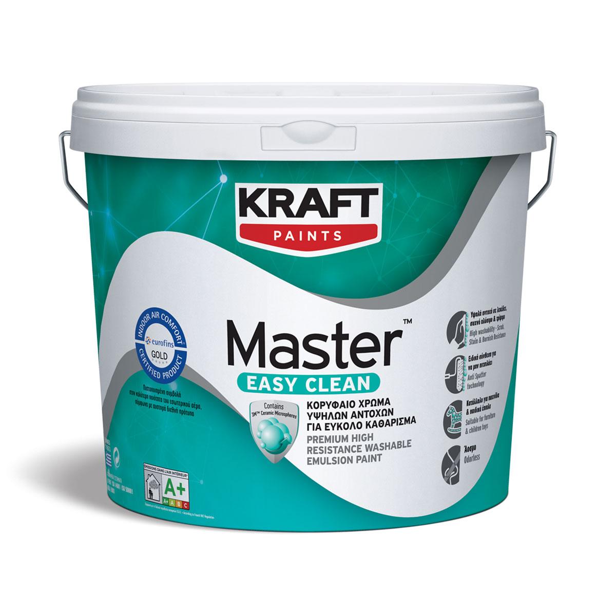 χρώματα kraft Master Easy Clean